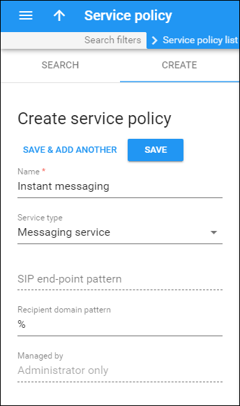 Instant Messaging Services - MR79